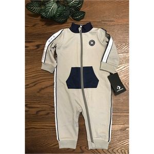 CONVERSE BABY TRACK SUIT ONESIE SIZE 9 months